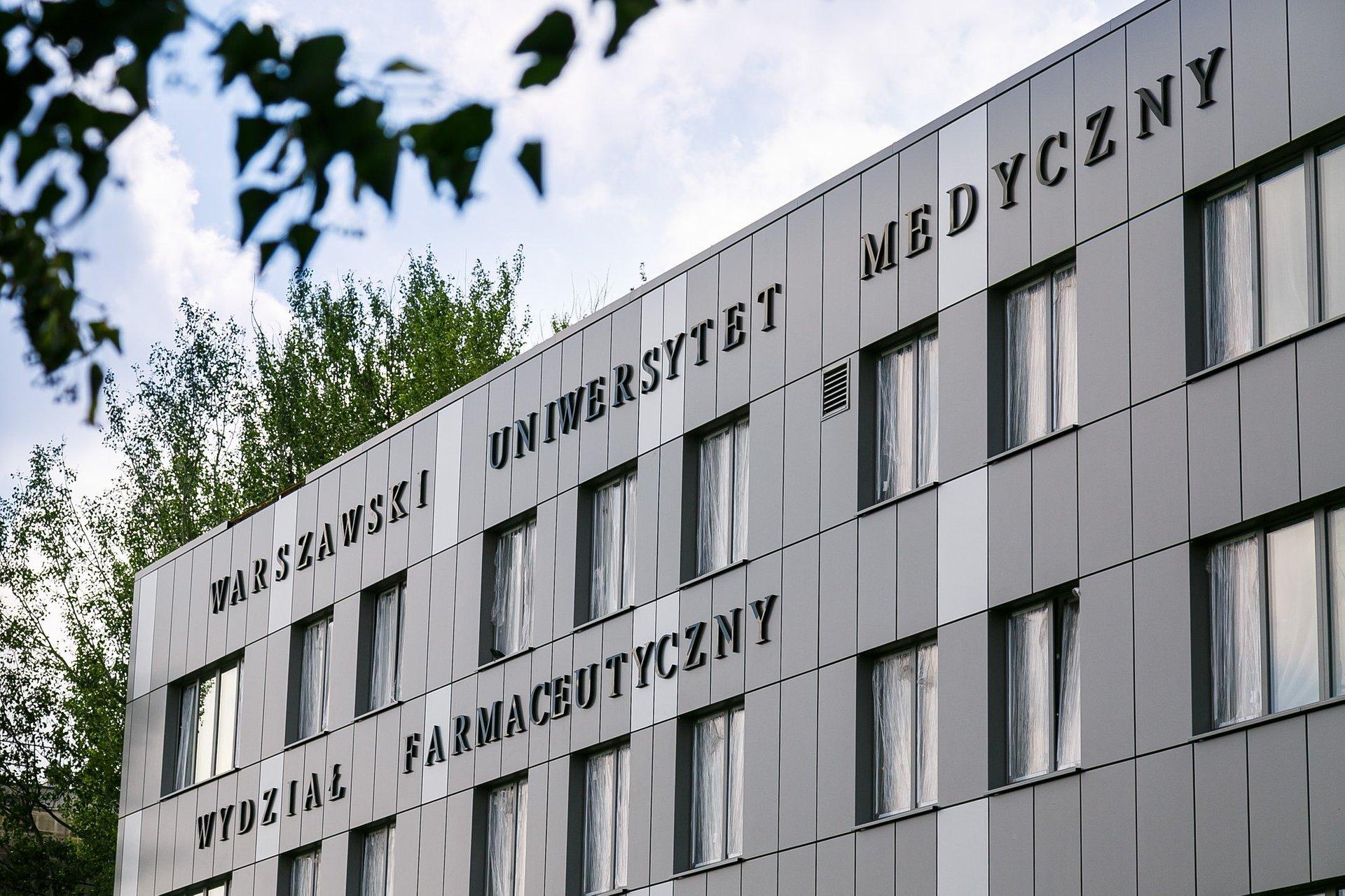 Spór o budynek Wydziału Farmaceutycznego WUM zakończony