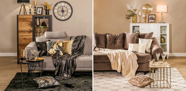MUST HAVE z dwóch perspektyw: modne akcesoria, dekoracje i tekstylia w sylwestrowej odsłonie