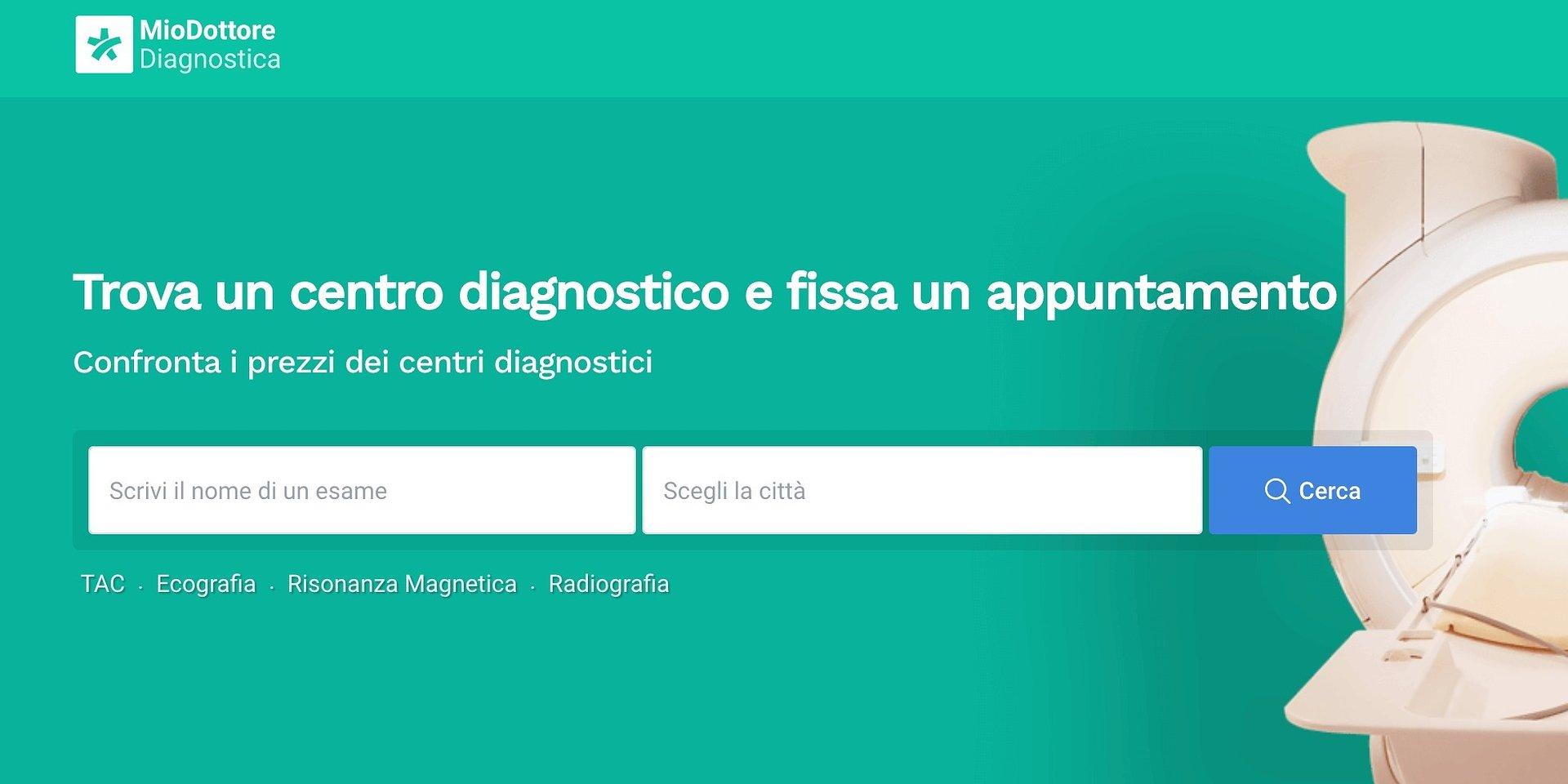 MioDottore ha lanciato la sezione Test Covid-19 e la piattaforma dedicata alla Diagnostica, per essere ancora più vicino ai pazienti
