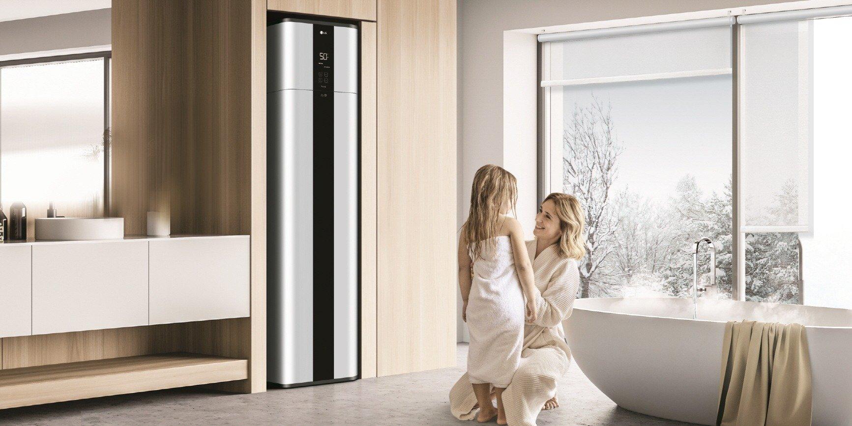CES 2021: Wydajna i przyjazna dla środowiska pompa ciepła LG do ciepłej wody użytkowej, wyróżniona nagrodami za wzornictwo