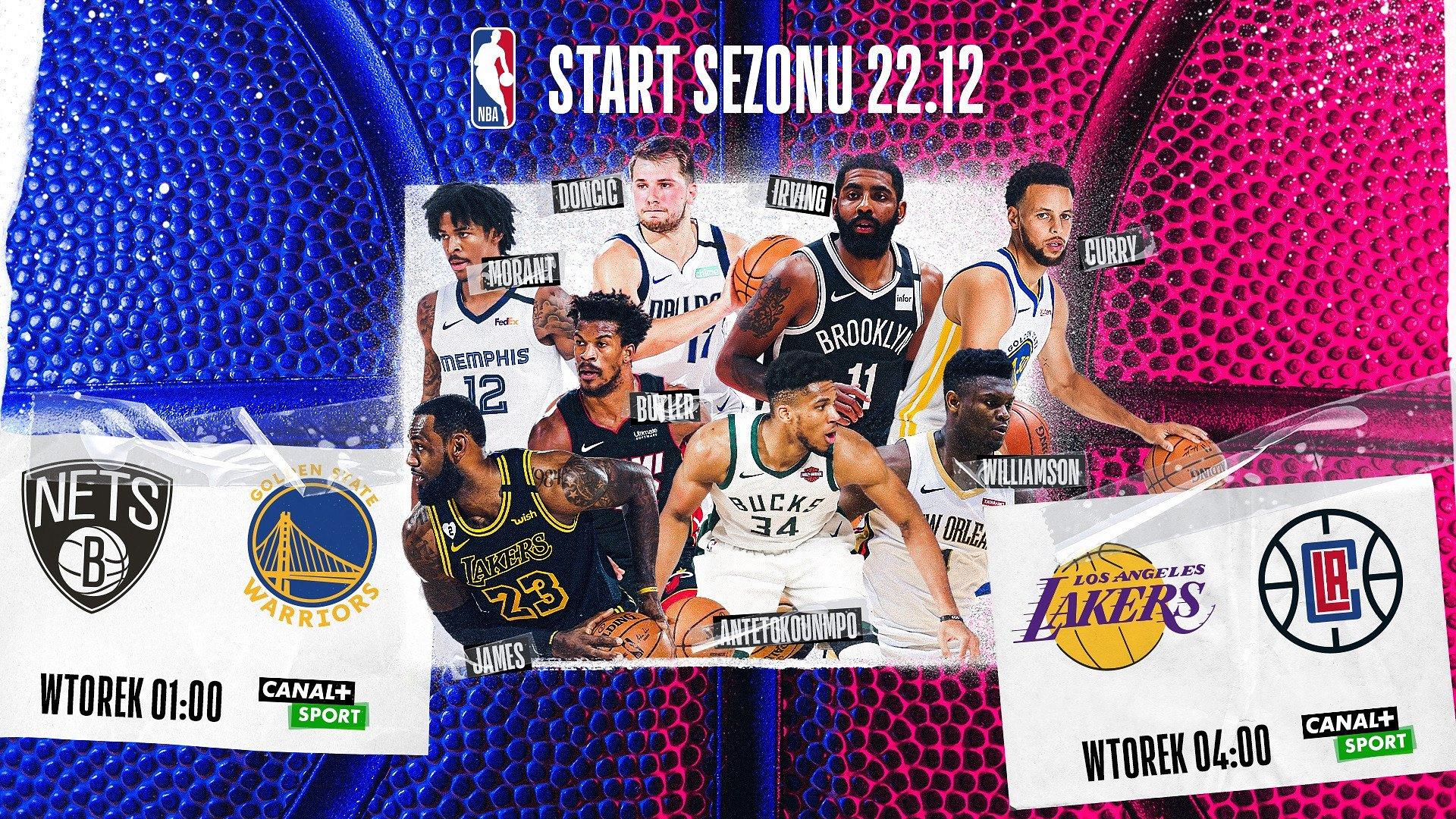 Nowy sezon NBA w CANAL+