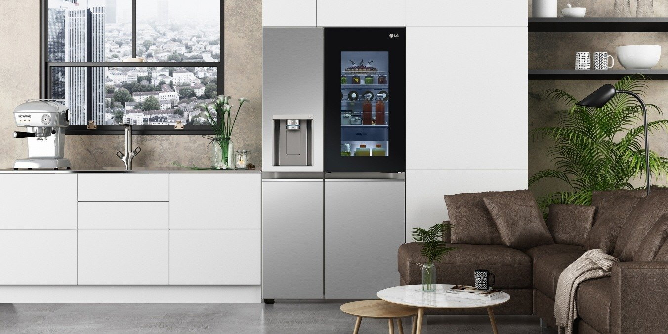CES 2021: Nowe lodówki LG InstaView prezentowane na targach CES 2021wykorzystują innowacje w dziedzinie higieny