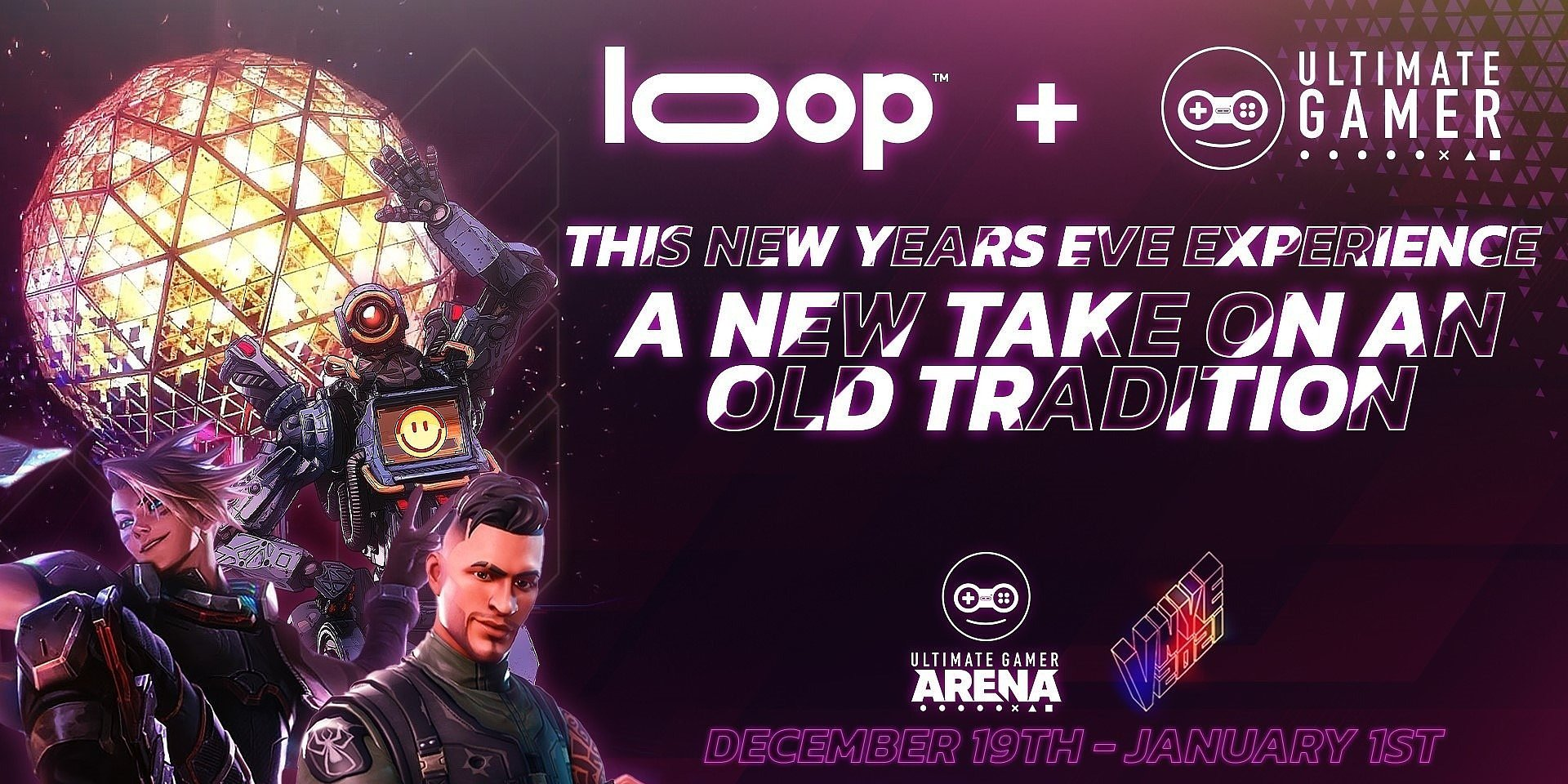 Loop Media, Inc. Partners With Ultimate Gamer For Times Square Virtual New Year's Eve Celebration
