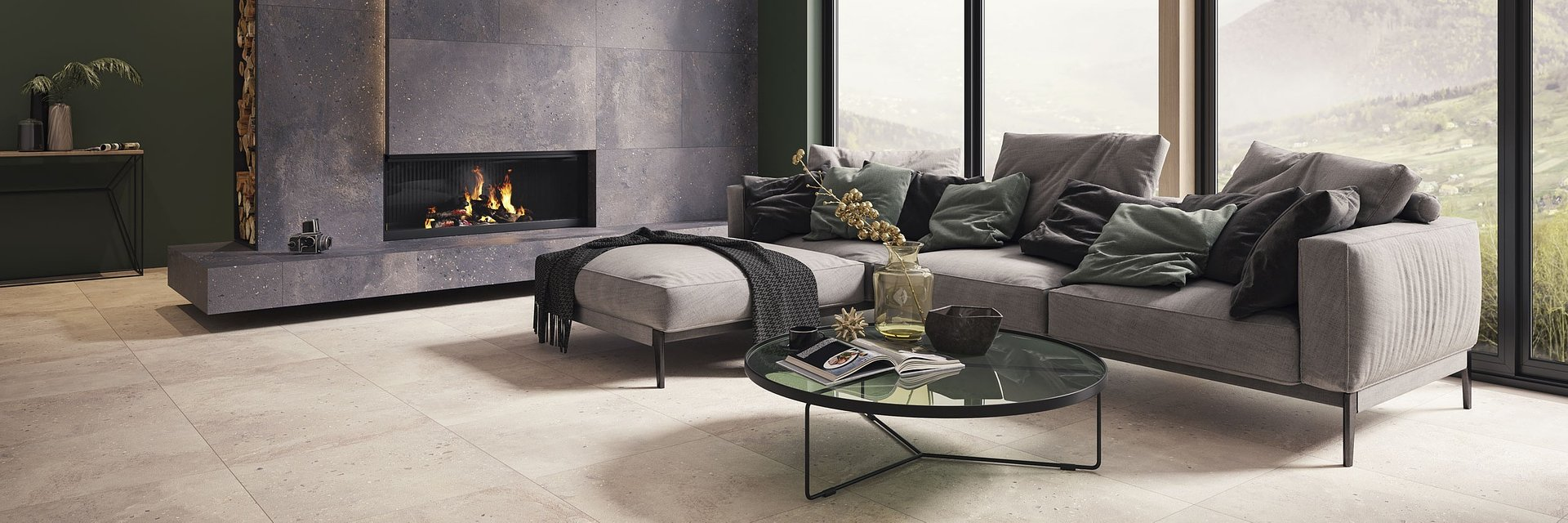 Desertdust, Industrialdust i Silkdust – nowe kolekcje Ceramiki Paradyż inspirowane betonem
