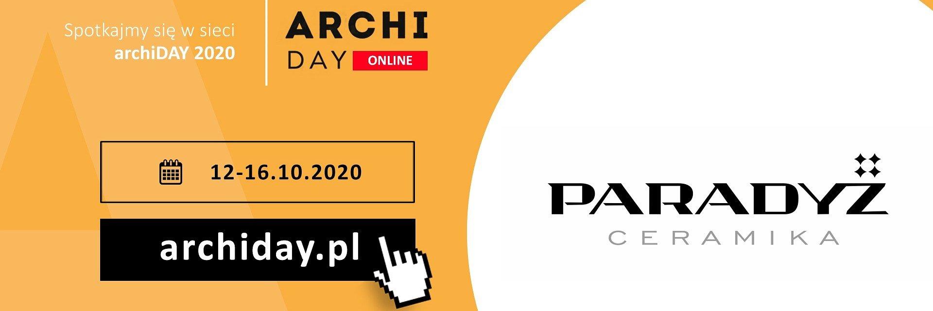 Ceramika Paradyż partnerem archiDAY 2020