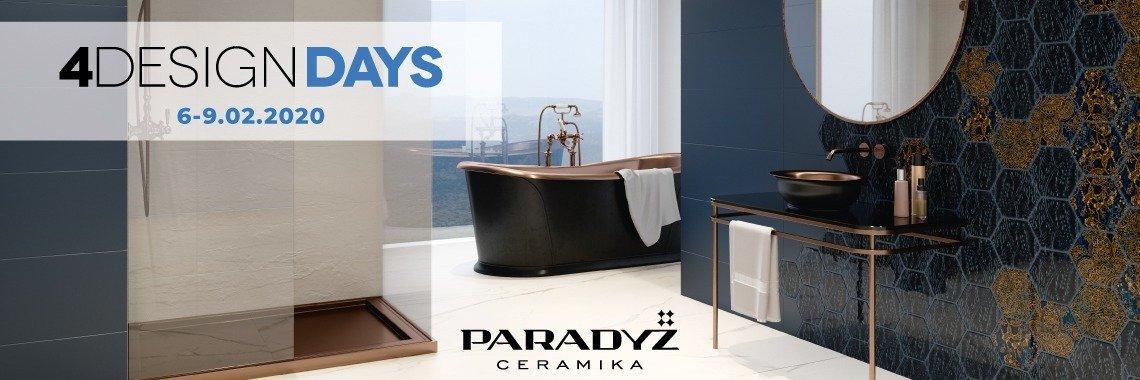 Ceramika Paradyż partnerem 4 Design Days