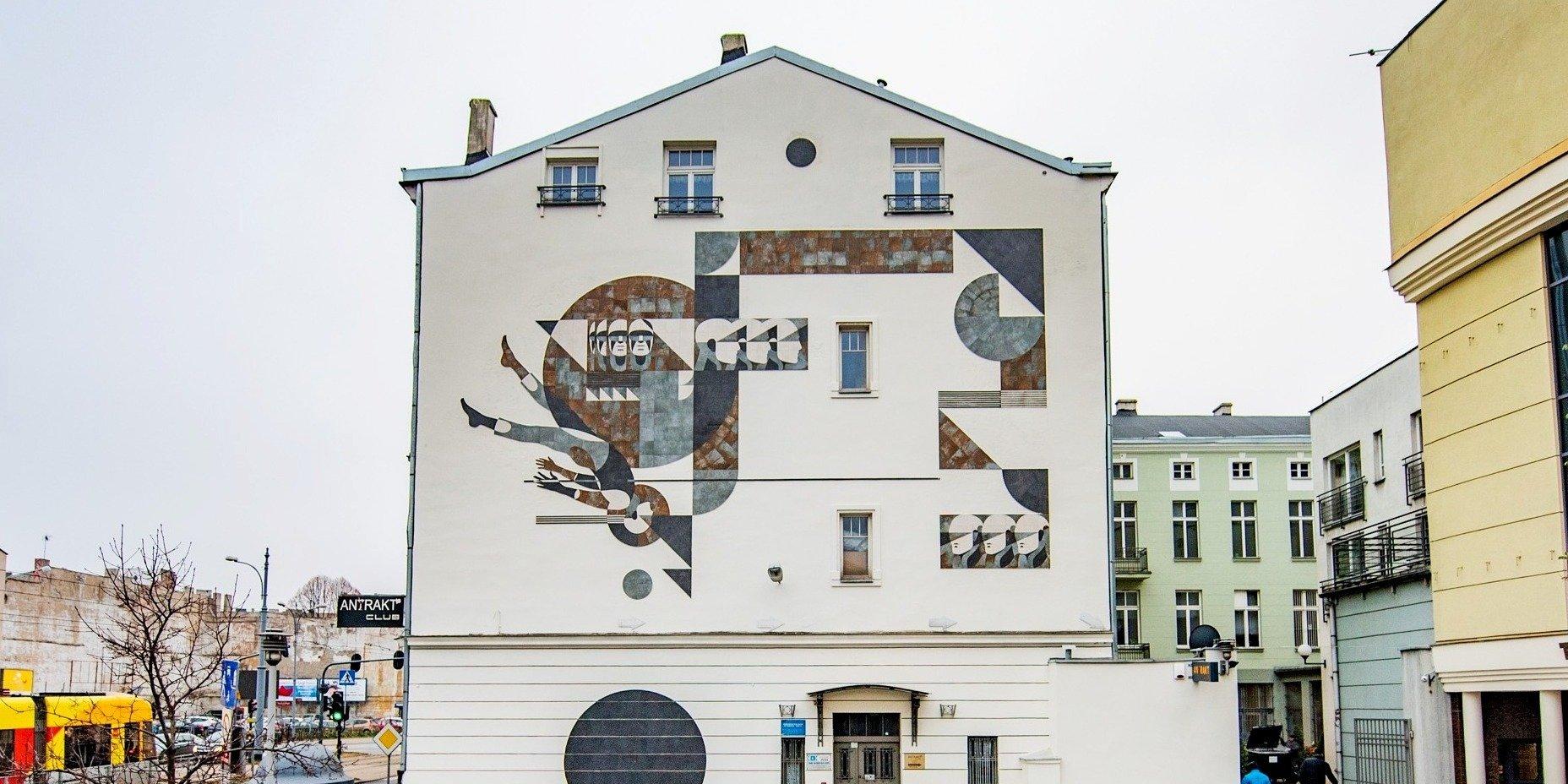Unikalna instalacja ceramiczna zmienia przestrzeń miejską w Łodzi!