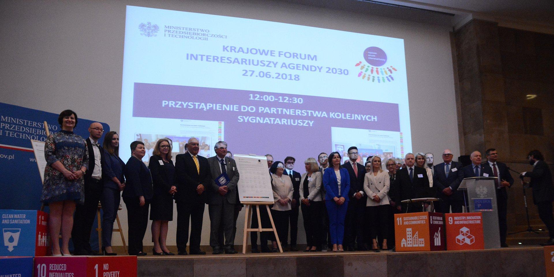 """Ceramika Paradyż wśród sygnatariuszy """"Partnerstwa na rzecz realizacji SDGs"""""""