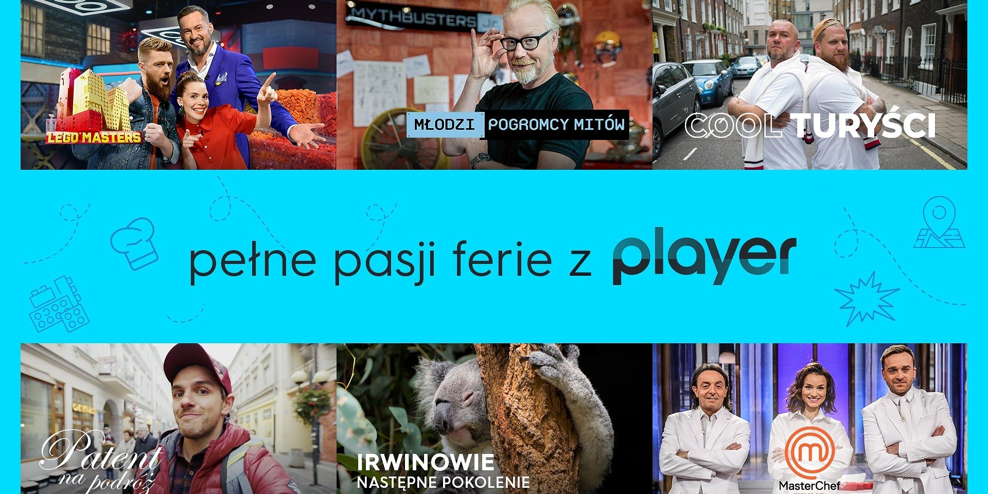 """Odkrywaj, podróżuj, inspiruj całą rodzinę, czyli spędź pełne pasji """"Ferie z Playerem""""!"""