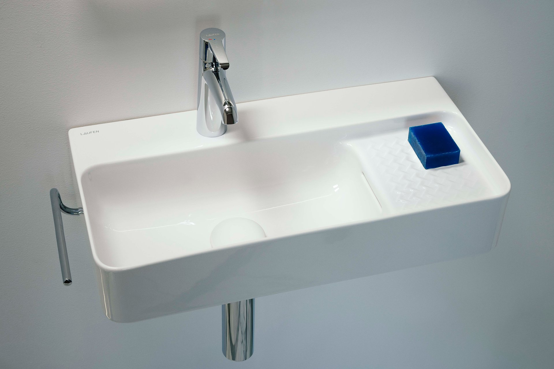 Laufen proponuje idealne rozwiązanie do małej miejskiej łazienki.