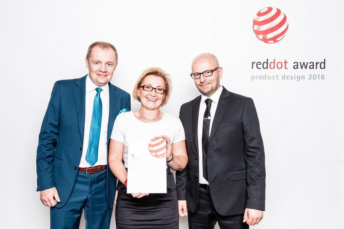 Ceramika Paradyż na gali Red Dot Design Award