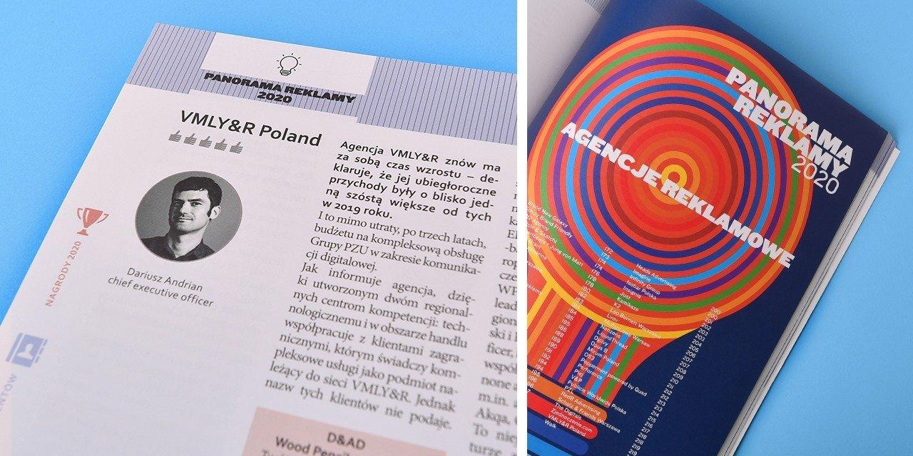 Panorama Reklamy 2020: VMLY&R Poland znów ze wzrostem