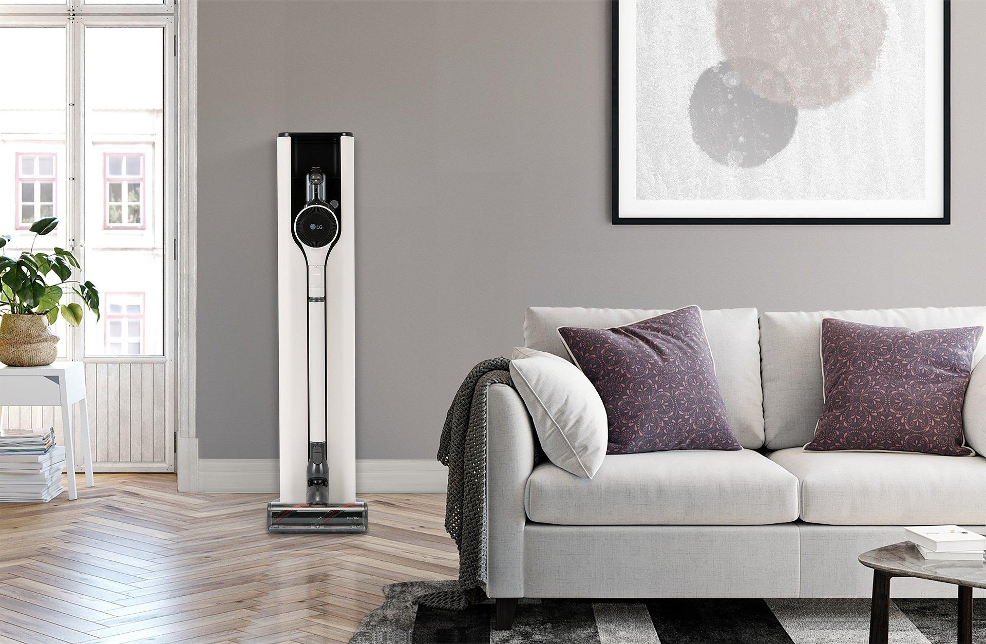 CES 2021: Najnowszy odkurzacz LG CordZero ThinQ z nową stacją ładowania zapewnia najwyższy komfort sprzątania
