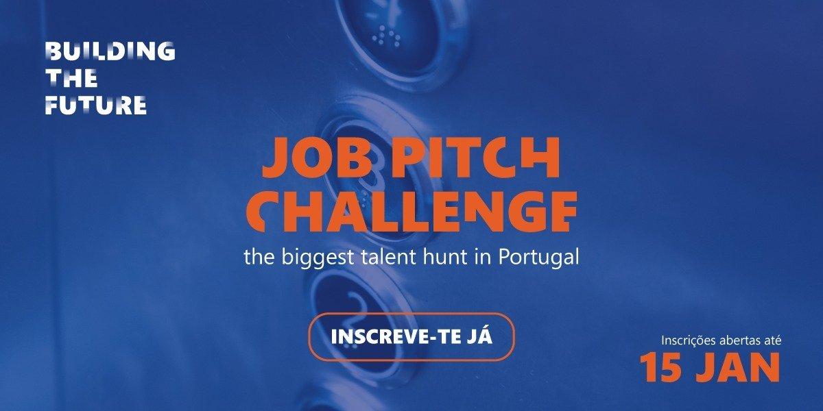 Job Pitch Challenge: A maior caça ao talento está de volta ao Building the Future