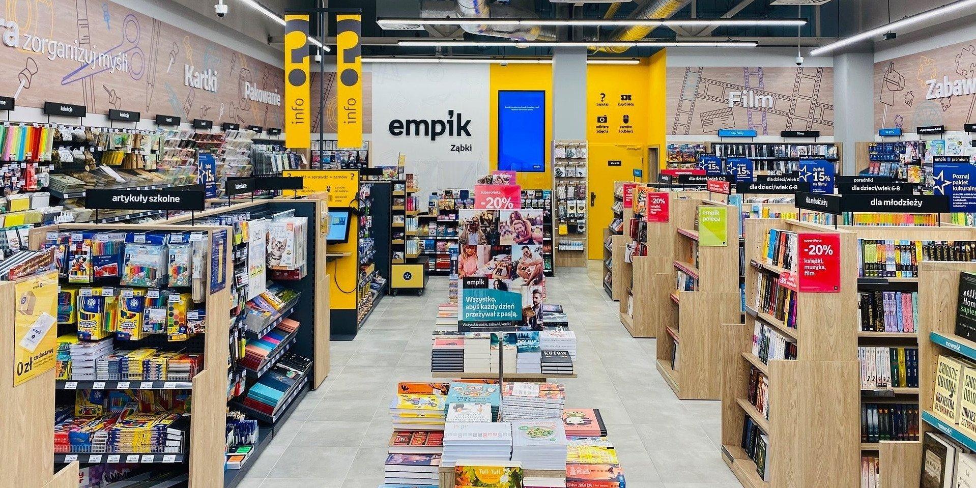 Zaawansowane algorytmy pomagają Empikowi otwierać nowe salony