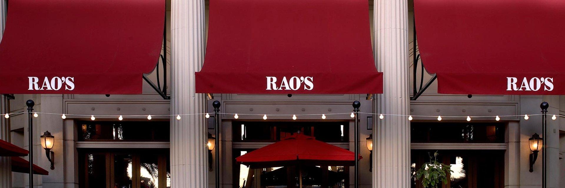 Dinner at Rao's