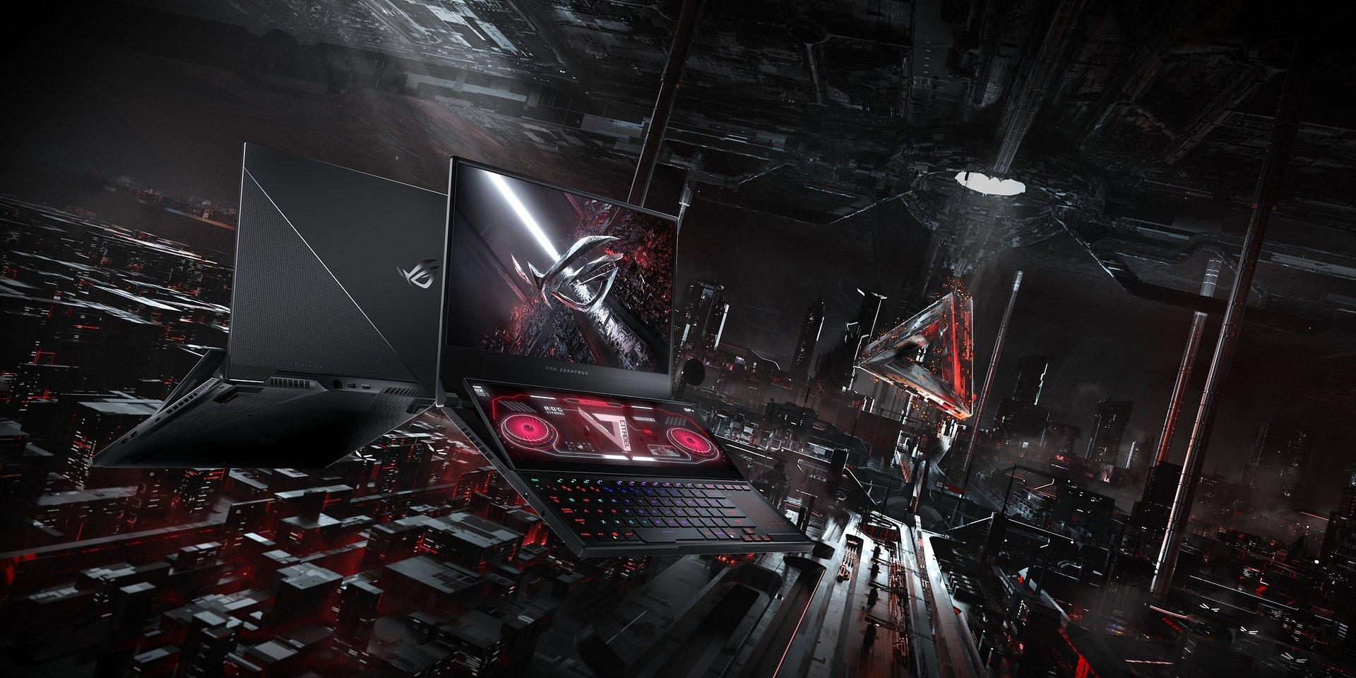ASUS ROG prezentuje dwuekranowego laptopa gamingowego Zephyrus Duo 15 SE