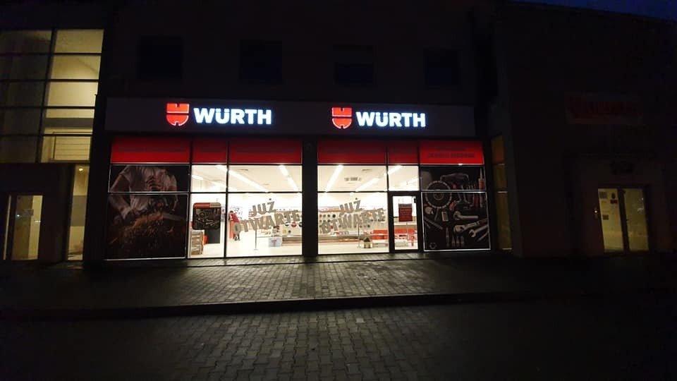Würth Polska z drugim sklepem stacjonarnym w Poznaniu