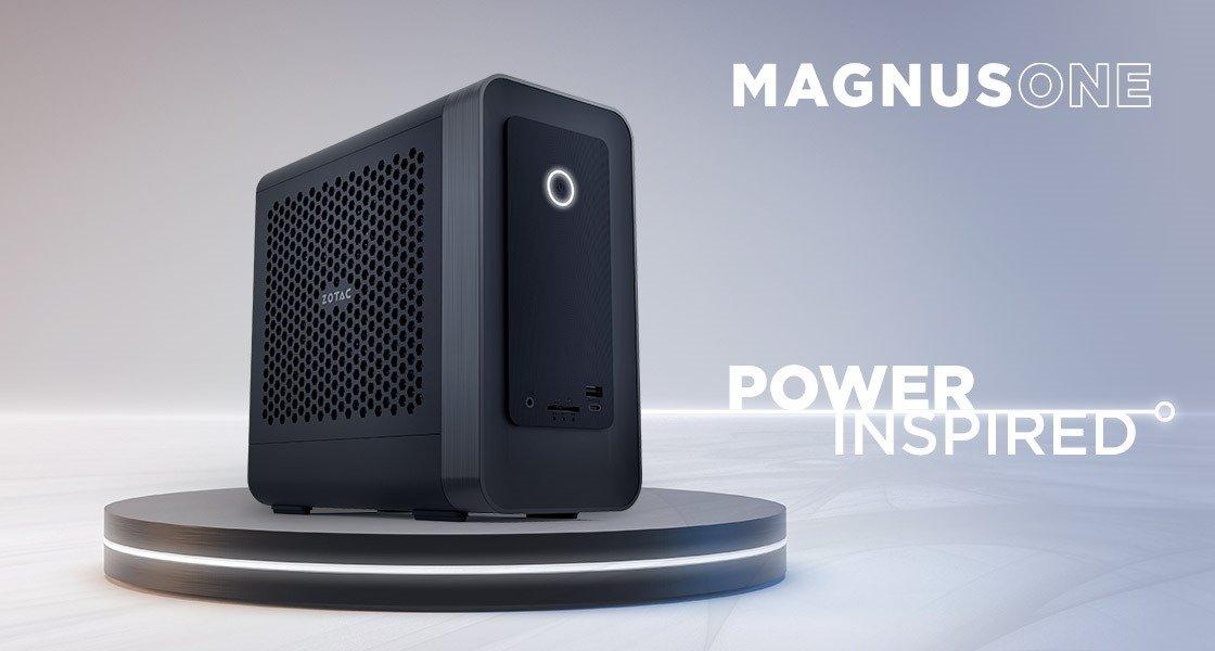 Wydajność ponad wszystko – ZOTAC przedstawia kompaktowy komputer MAGNUS ONE wyposażony w kartę graficzną nowej generacji