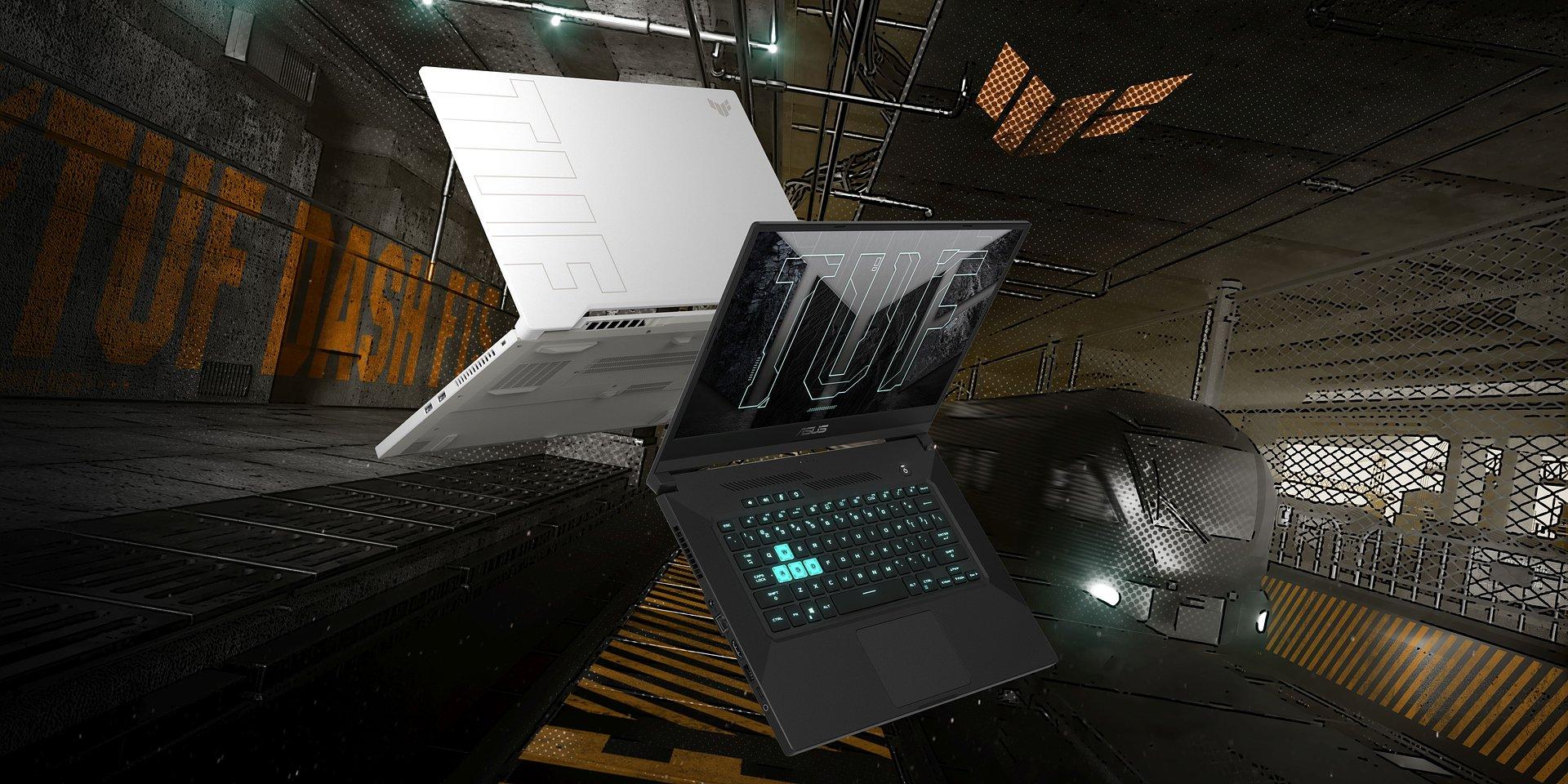 ASUS TUF Dash F15 - najnowszy smukły i lekki laptop gamingowy