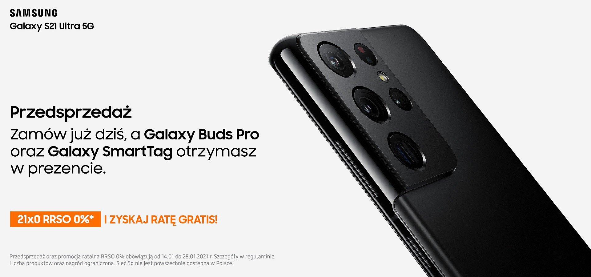 Startuje przedsprzedaż Samsung Galaxy S21 w Komputronik! Zamów dziś i odbierz słuchawki w prezencie