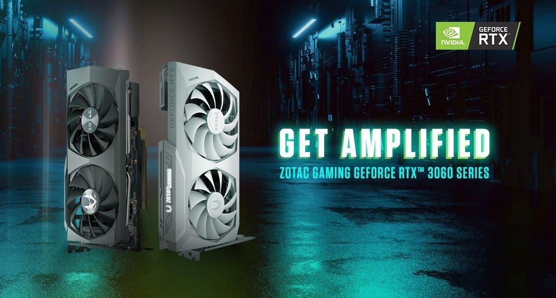 ZOTAC GAMING prezentuje karty z serii GeForce RTX 3060