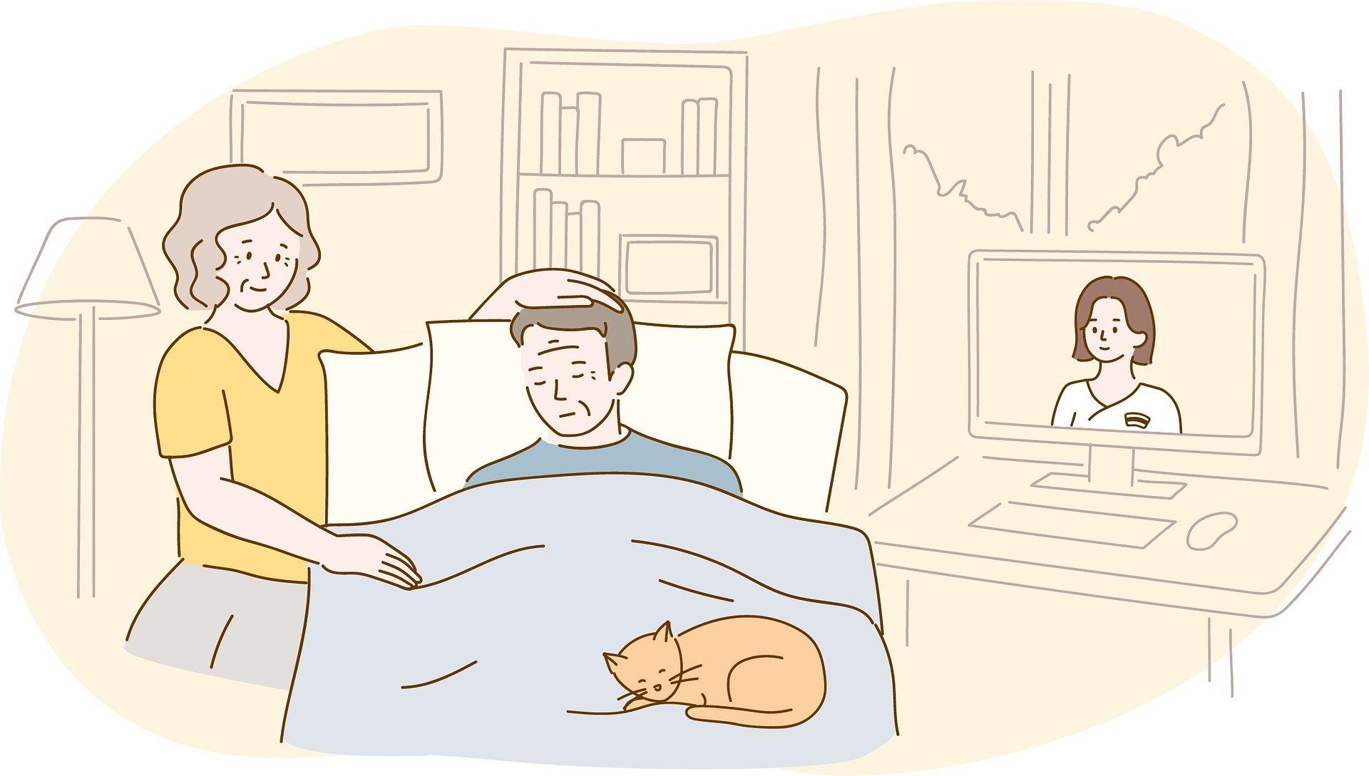 Specjalistyczny portal stworzony w trosce o opiekunów domowych – znajdą tam pomoc, wiedzę i wsparcie