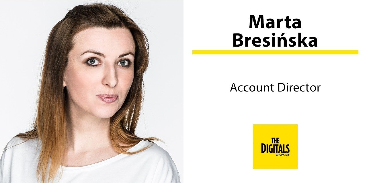 Marta Bresińska account directorem w The Digitals (Grupa S/F)