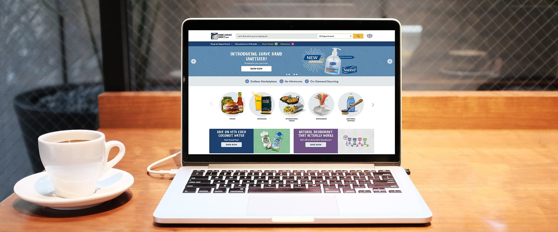 FoodServiceDirect.com – A New Way to Order for Your Business