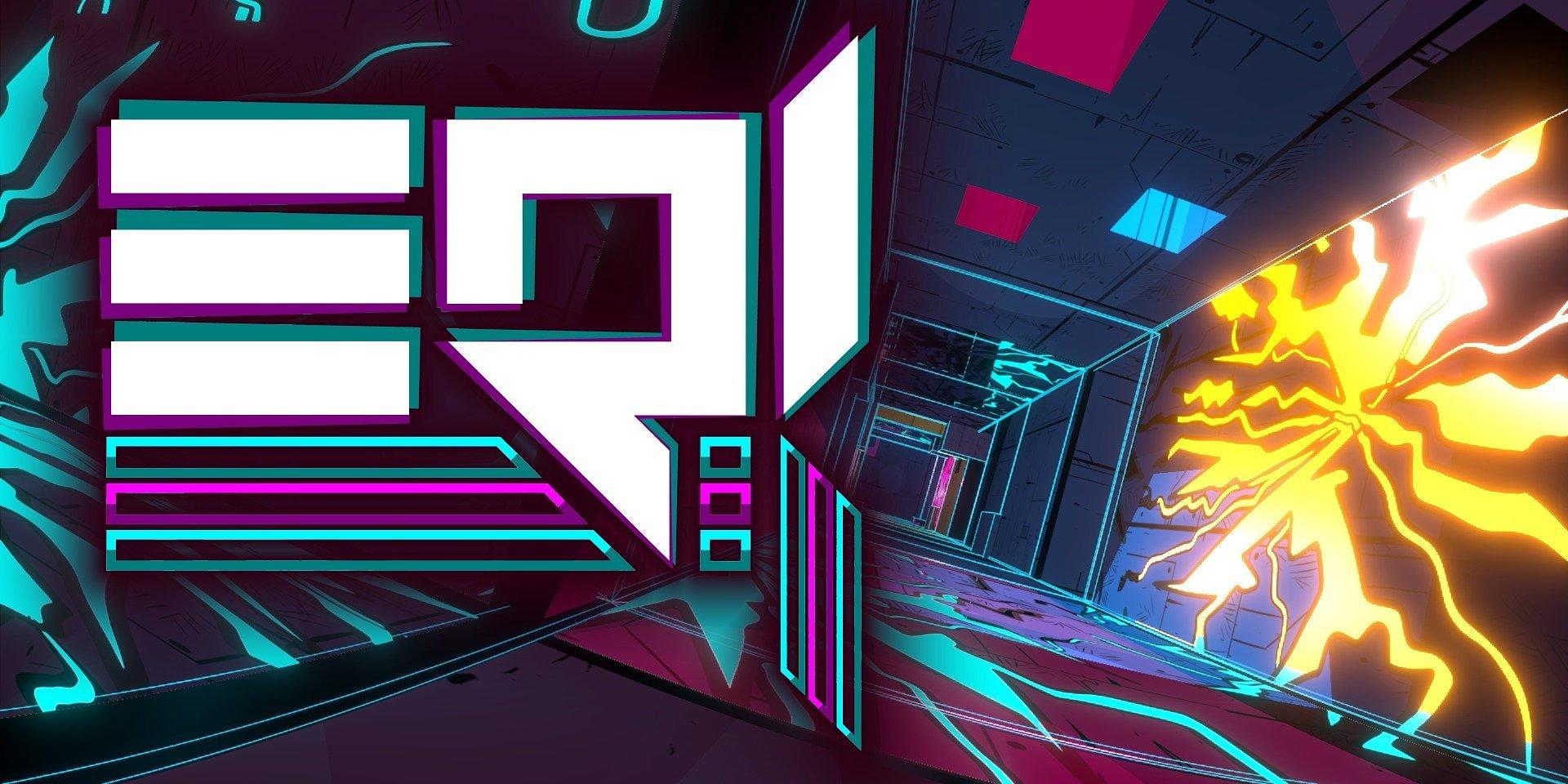 Ostra psychodela w cyberprzestrzeni - gra zręcznościowo-logiczna EQI dostępna za darmo na Steamie