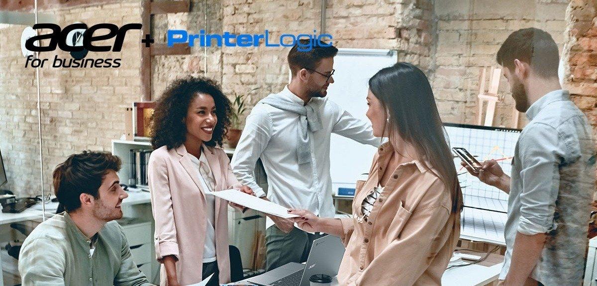 Acer i PrinterLogic łączą siły, aby dostarczyć klientom biznesowym z obszaru EMEA usługi drukowania oparte na chmurze