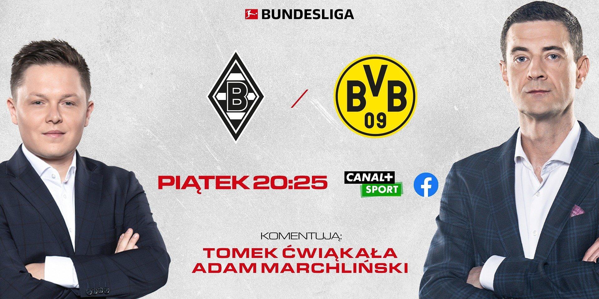 """Borussen derby"" również na Facebooku CANAL+SPORT"