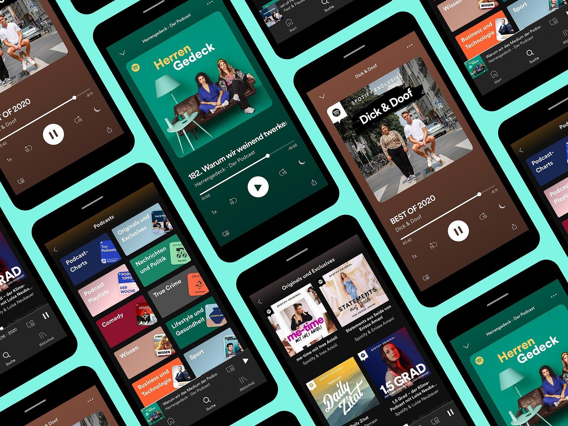 Spotify Podcast Ads jetzt offiziell in Deutschland verfügbar