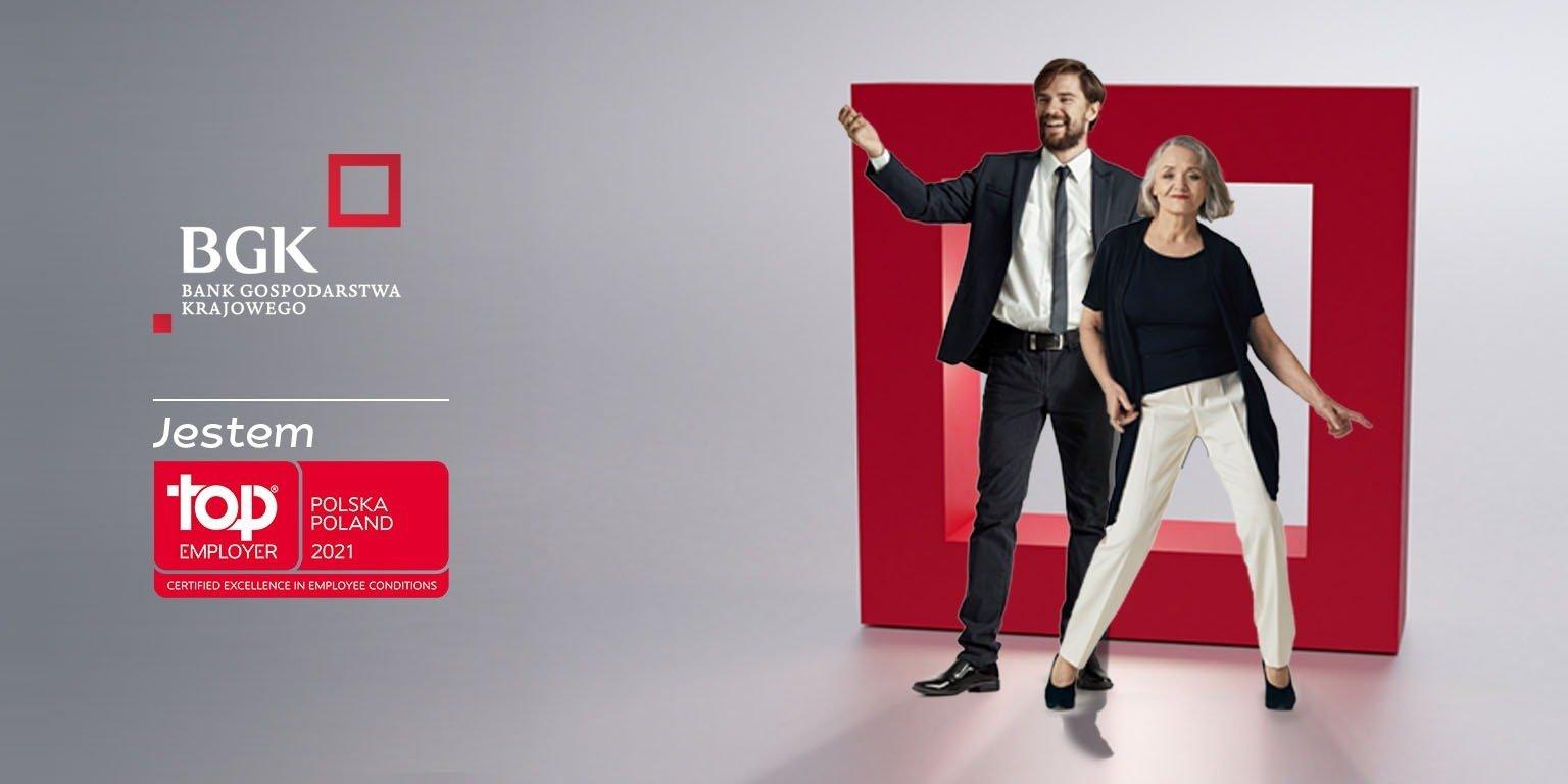 BGK po raz trzeci z tytułem Top Employer Polska