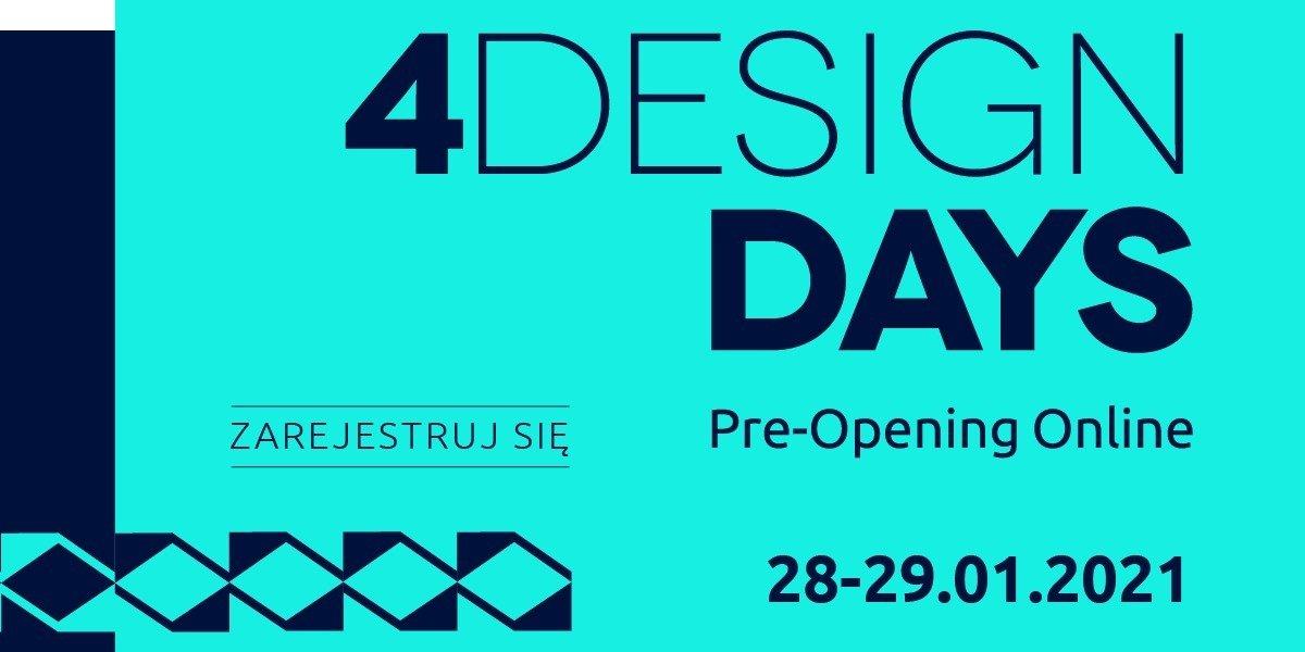 Dwa dni z architekturą i designem - 4 Design Days Pre-Opening Online