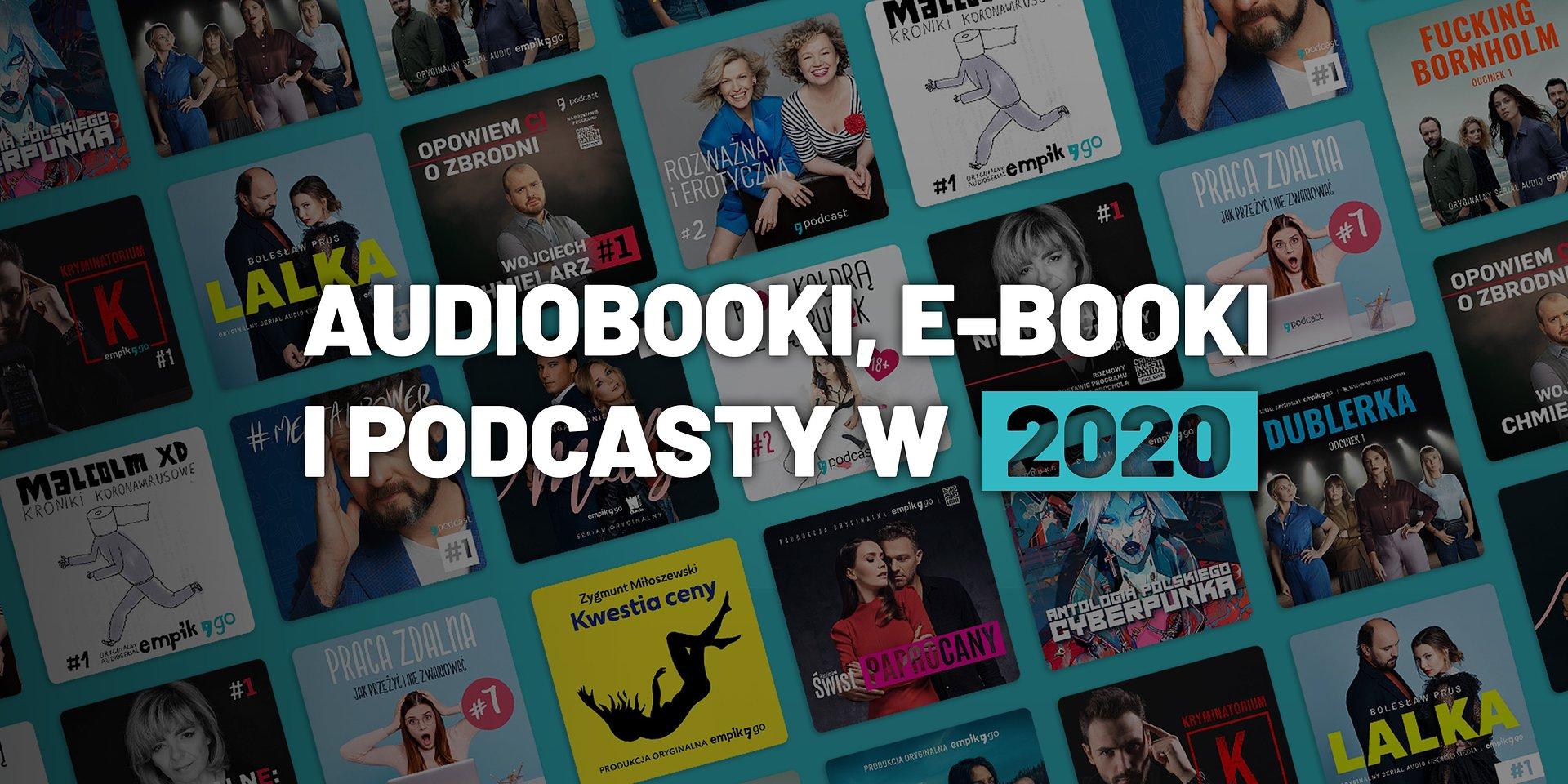 Zaczynamy słuchać! Podsumowanie rekordowego roku dla audiobooków w aplikacji Empik Go