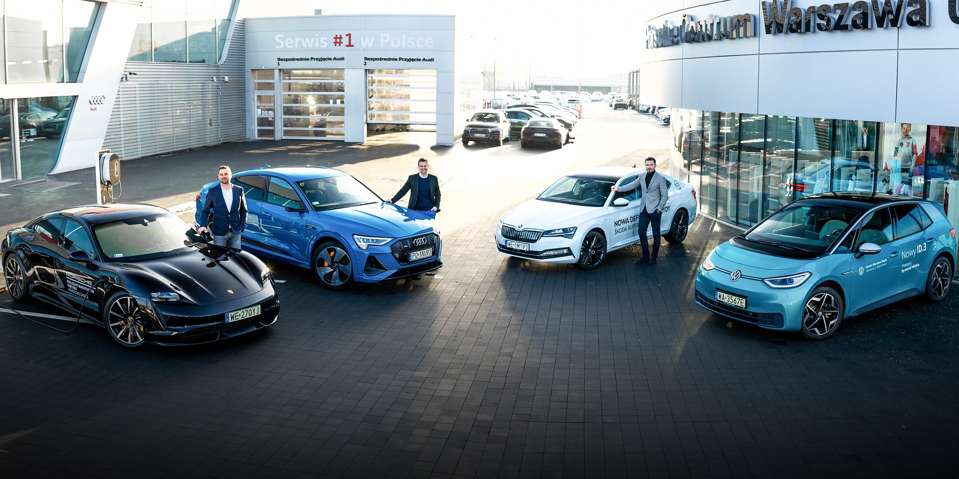 Samochody elektryczne oraz nowoczesna technologia solarna. SunRoof partnerem biznesowym Porsche Inter Auto Polska
