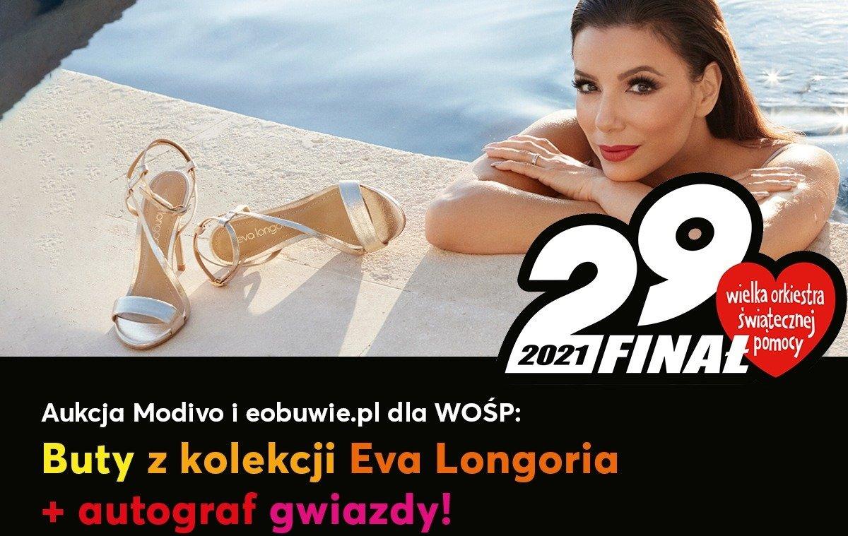 Wylicytuj buty z kolekcji Eva Longoria i autograf gwiazdy!