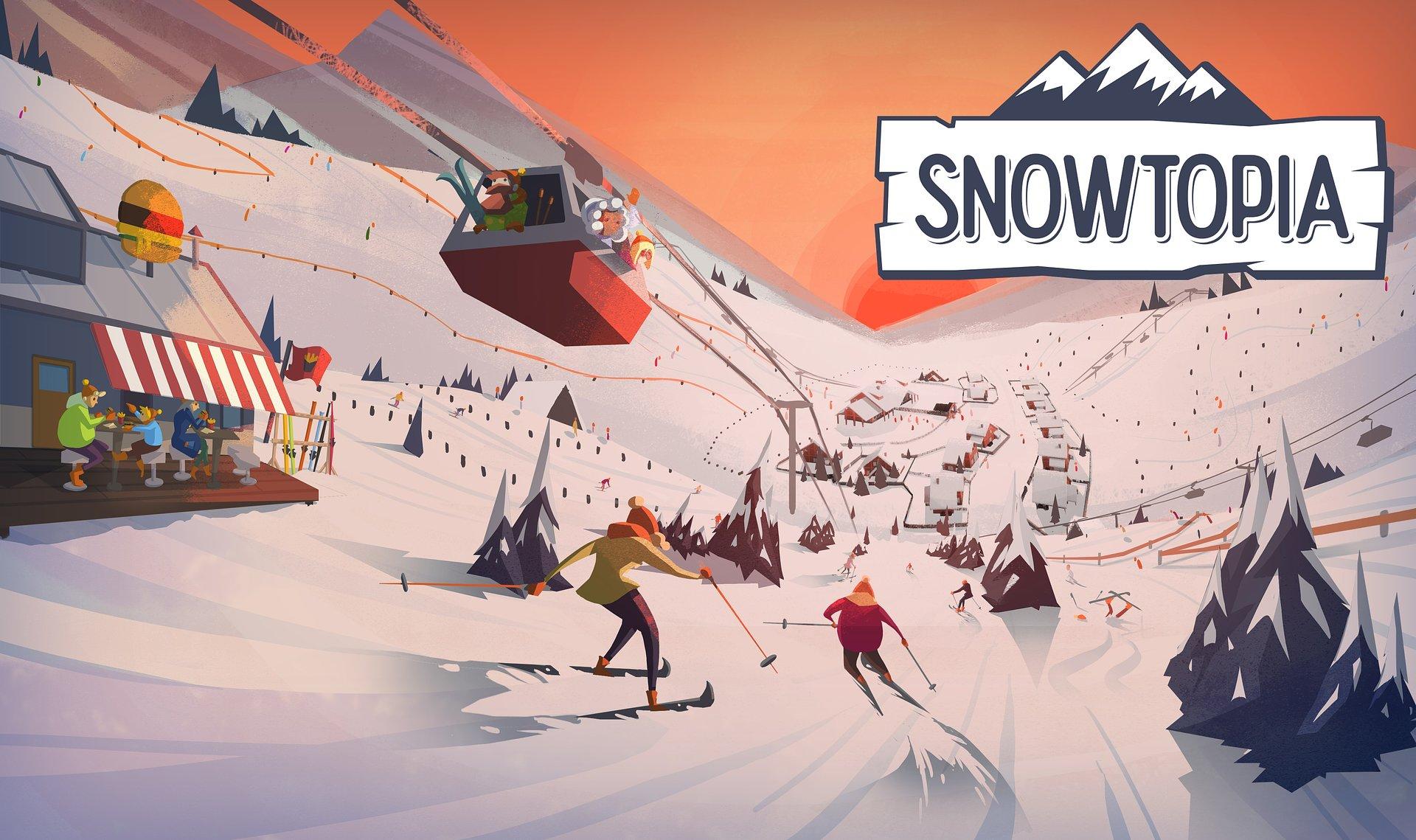 Snowtopia - twój własny kurort narciarski otwiera stoki we Wczesnym Dostępie już dzisiaj!