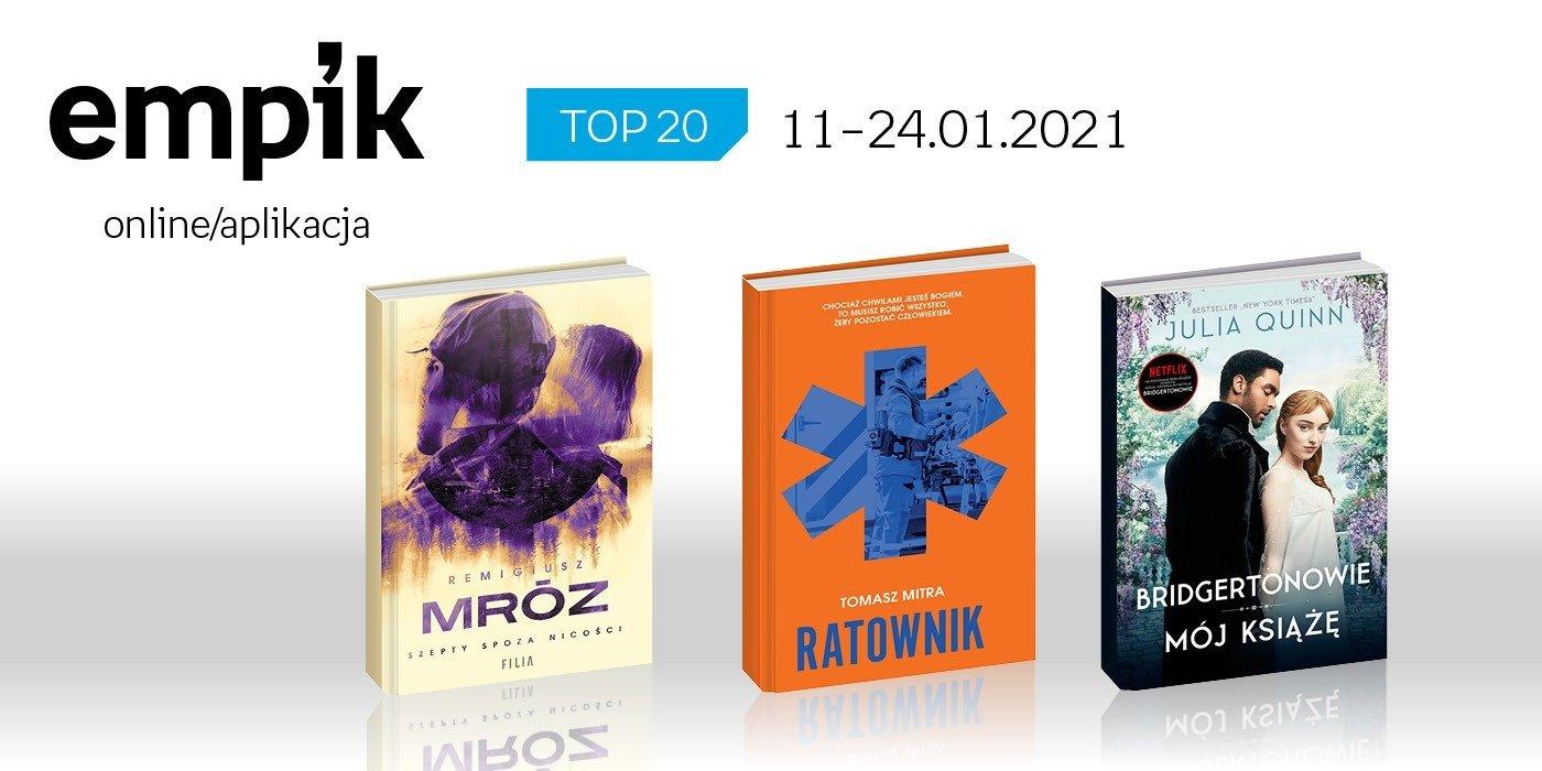 Książkowa lista TOP 20 na Empik.com za okres 11-24 stycznia
