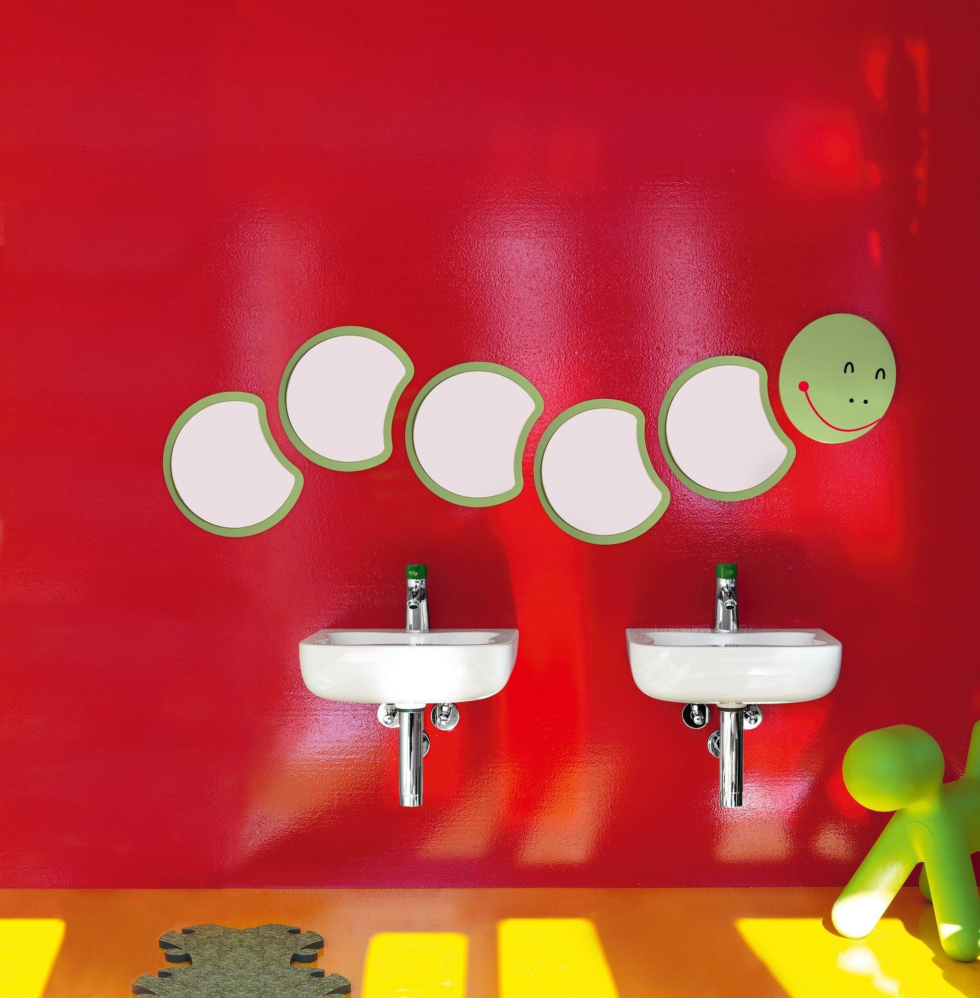 Kolorowy świat zwierząt i roślin w łazience LAUFEN dla dzieci