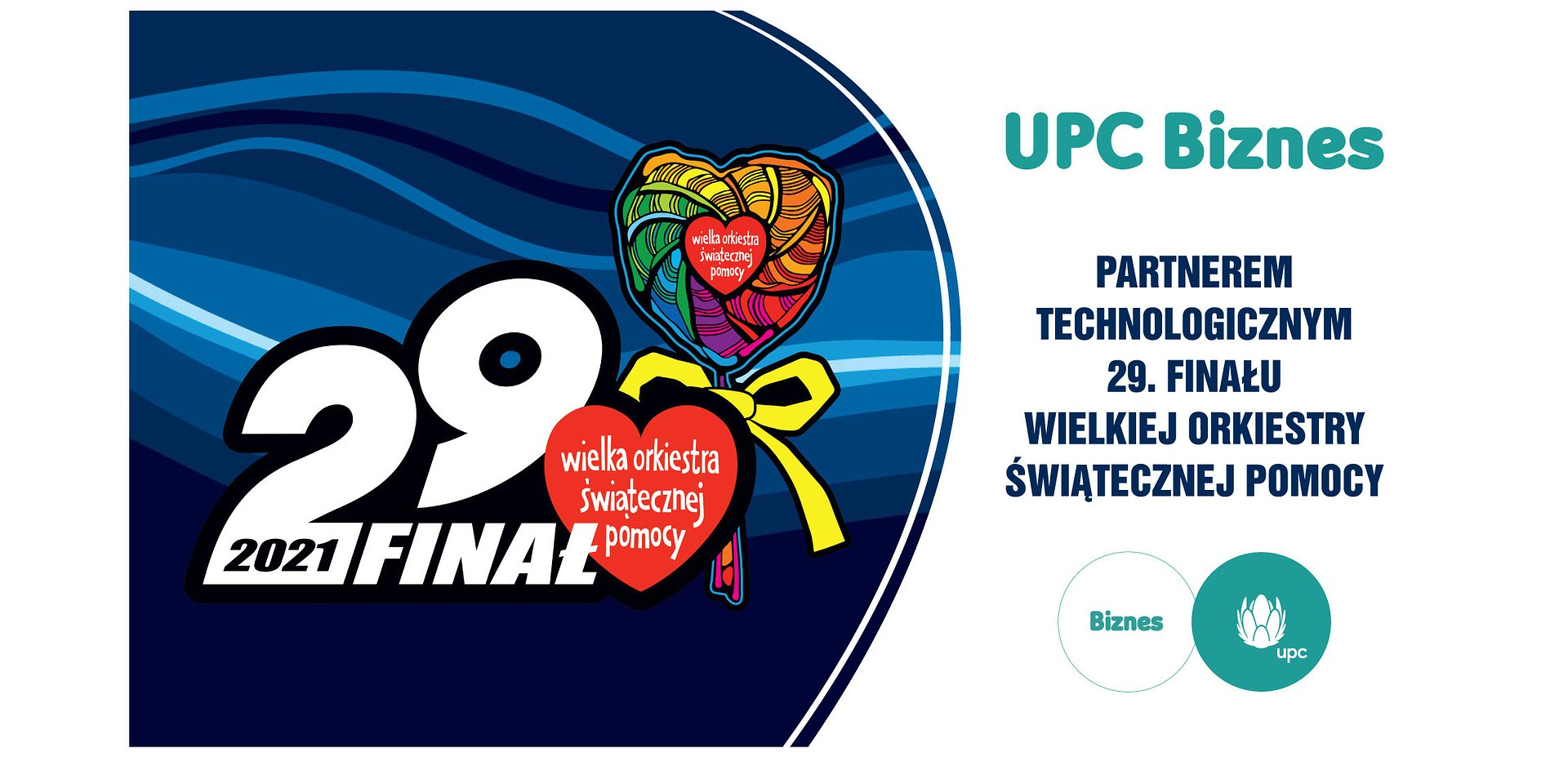 UPC Biznes partnerem technologicznym 29. Finału WOŚP