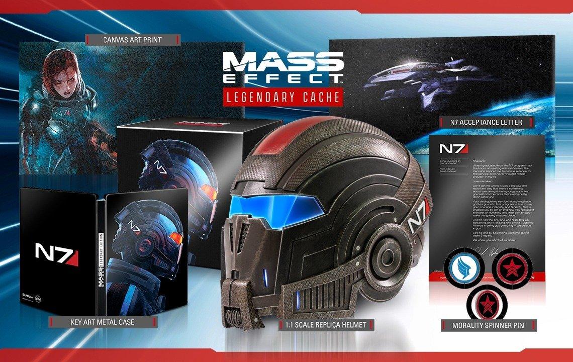 Mass Effect Legendary Cache Product Announcment