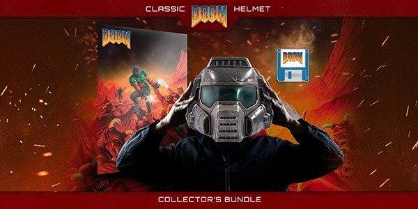 DOOM Classic Helmet Collector's Bundle Product Announcement
