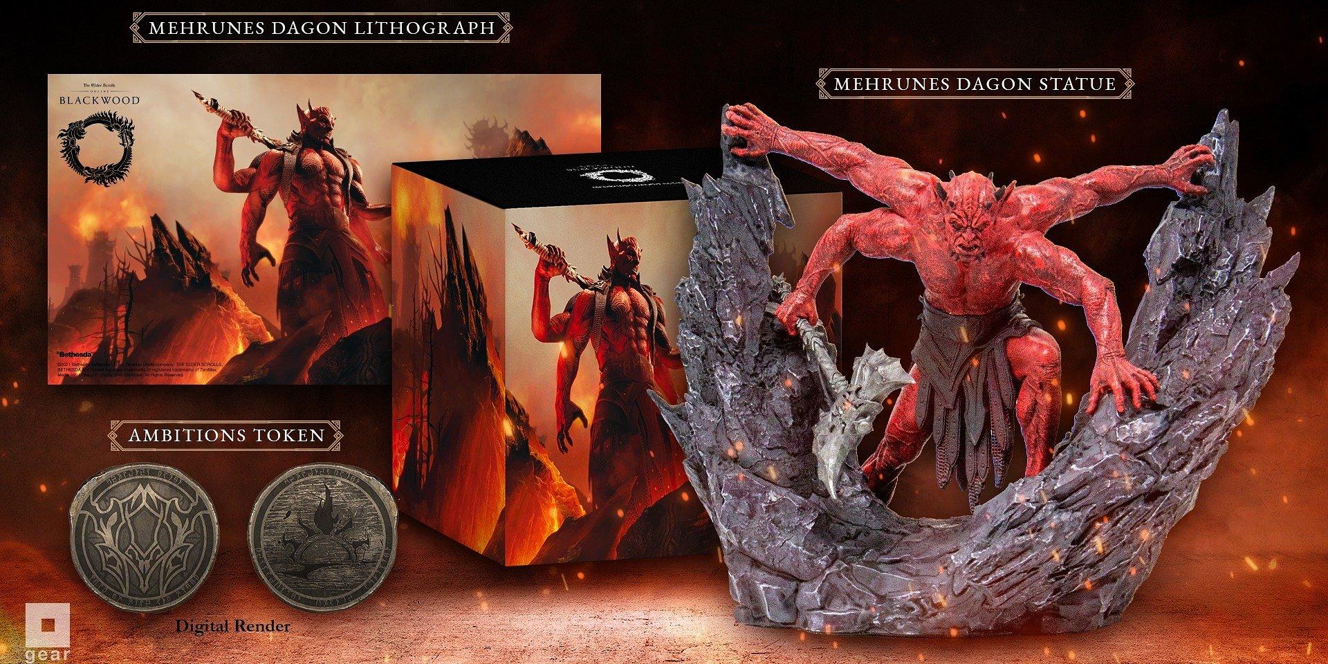 Elder Scrolls Online: Mehrunes Dagon Premuim Bundle Product Announcement