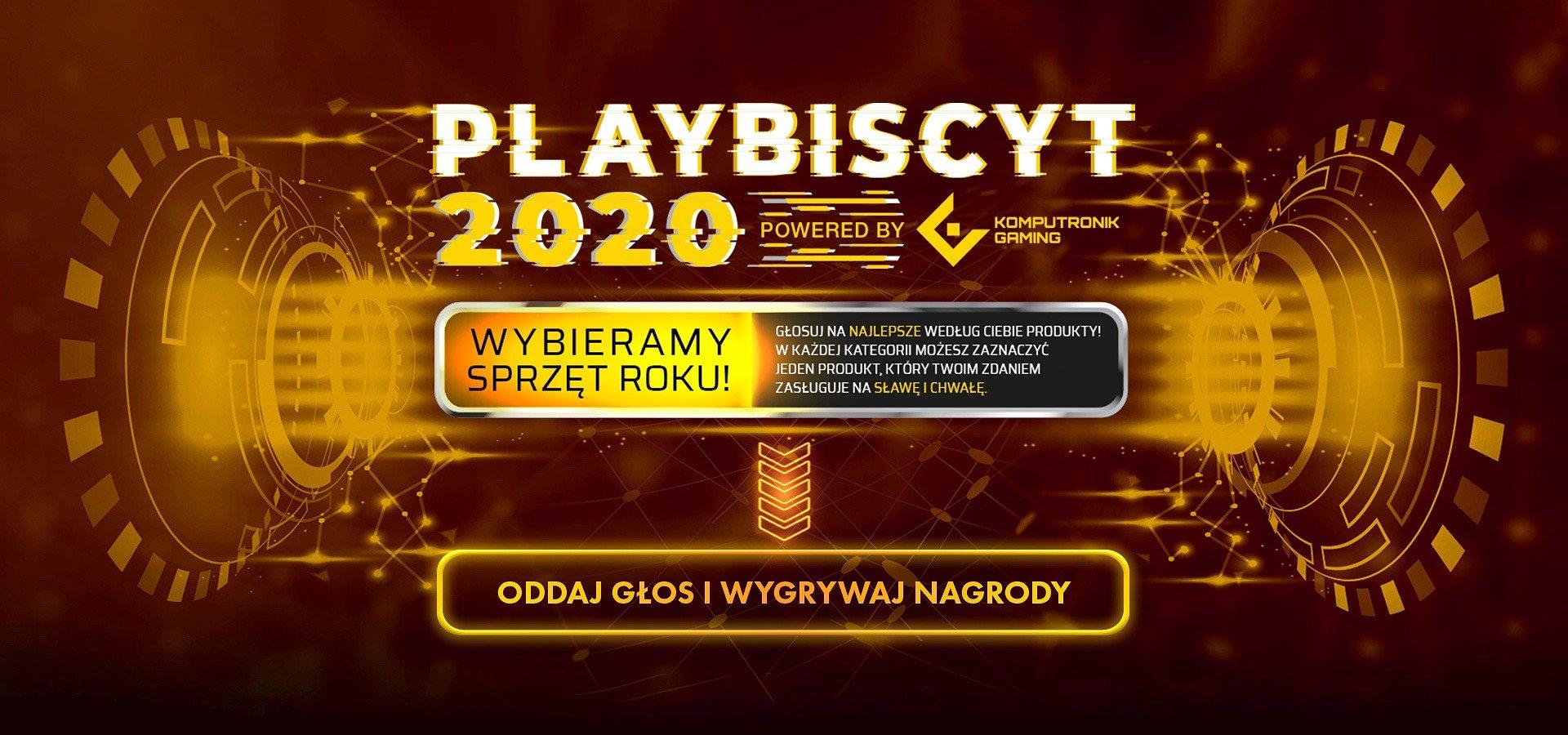 Startuje plebiscyt na najlepszy sprzęt dla gracza 2020 roku! Weź udział w głosowaniu i wygraj nagrody