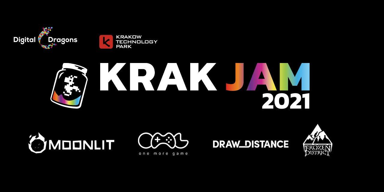 KrakJam 2021 online największym polskim Global Game Jamem!