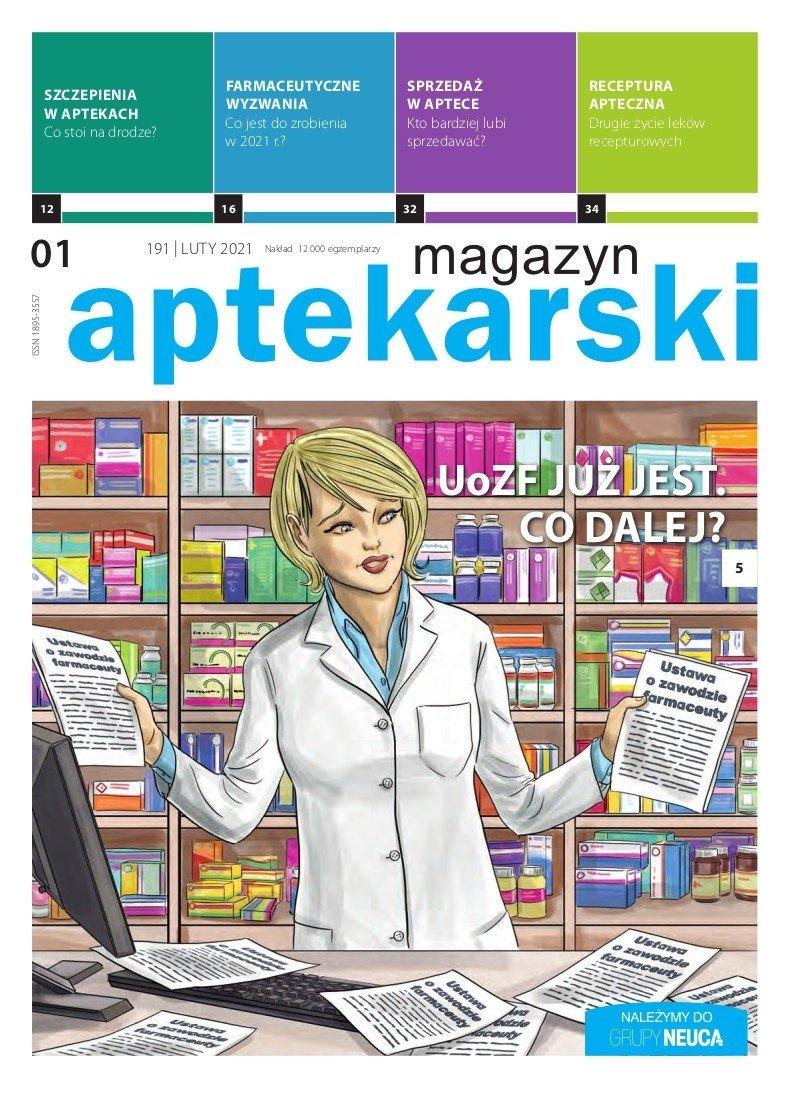 """""""Magazyn Aptekarski"""", luty 2021"""
