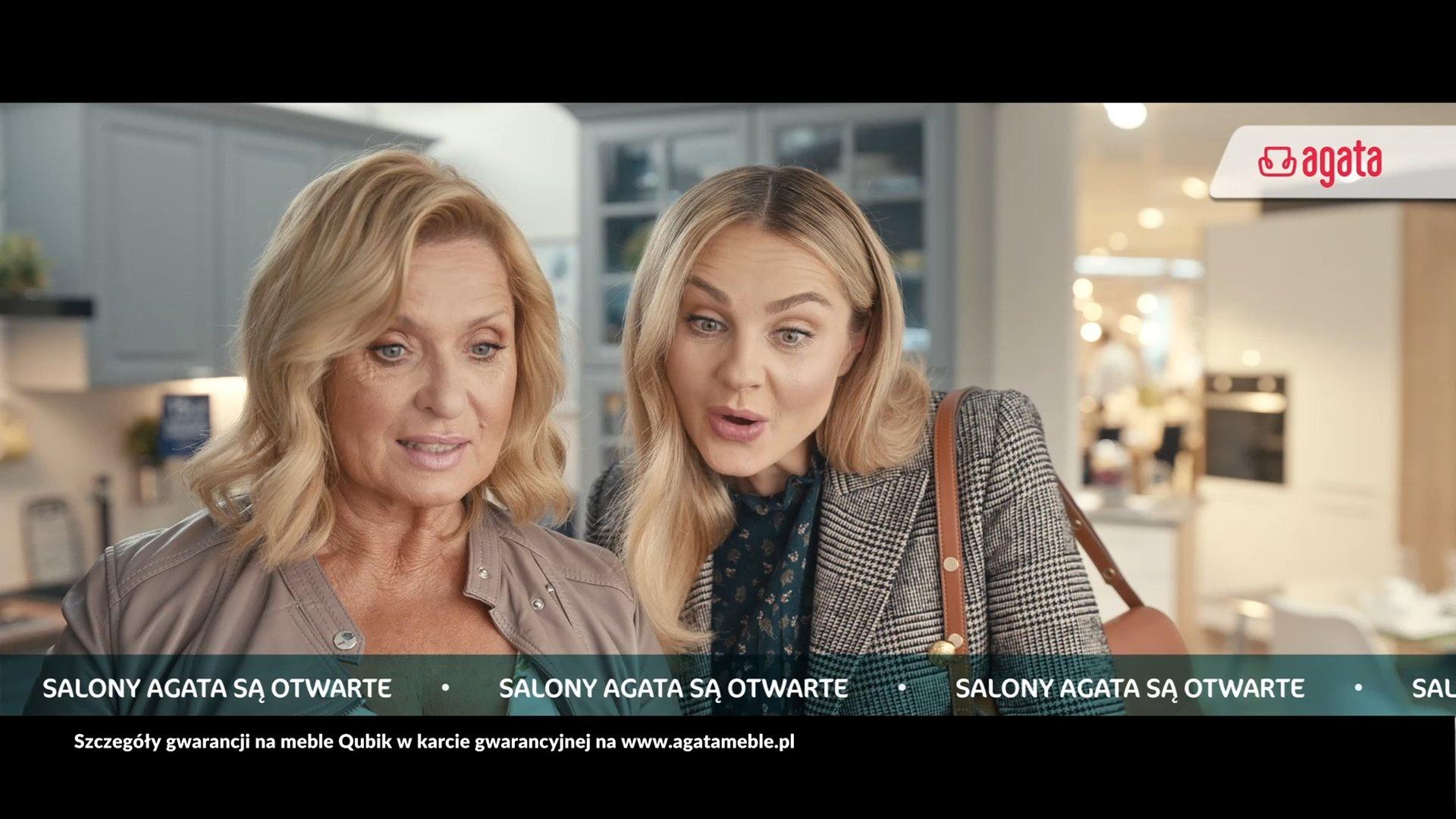 Meble kuchenne z gwarancją na lata. Salony Agata prezentują nowy spot reklamowy
