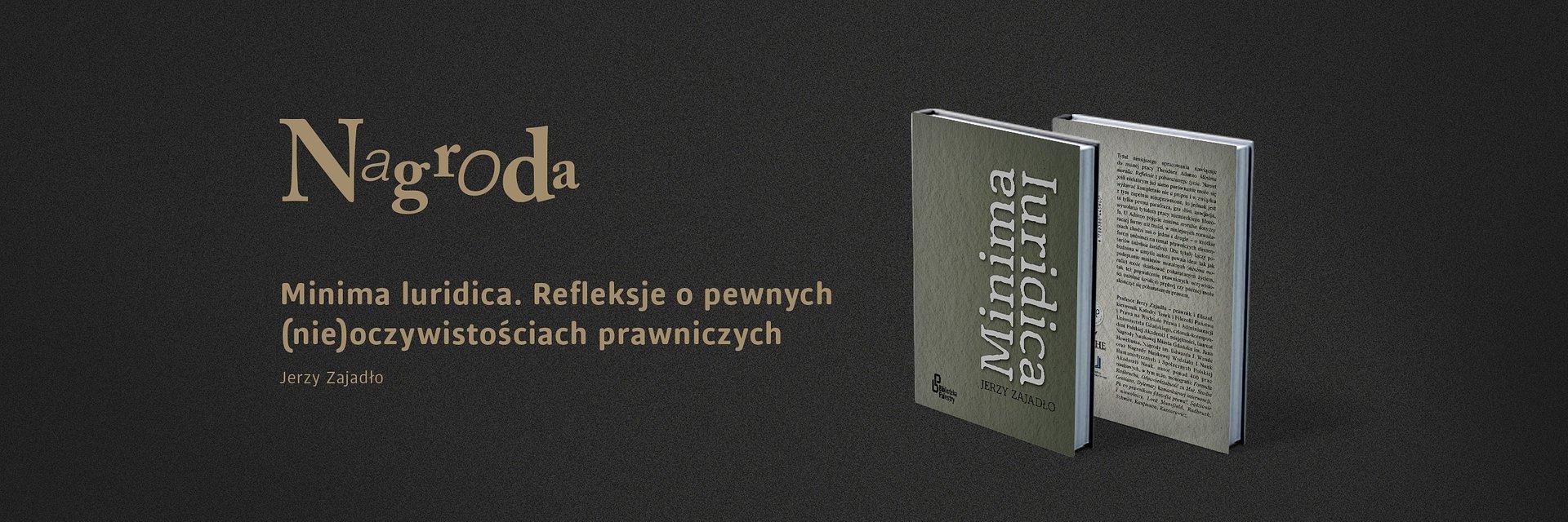 """""""Minima luridica…"""" wygrywa VI Konkurs im. Prof. T. Kotarbińskiego"""